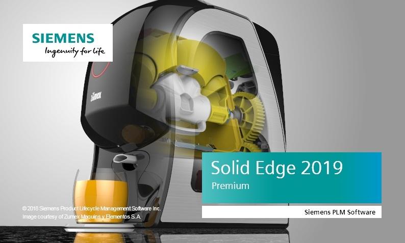 Siemens Solid Edge 2019,Siemens Solid Edge 2019 x64 中文破解版别及授权教程