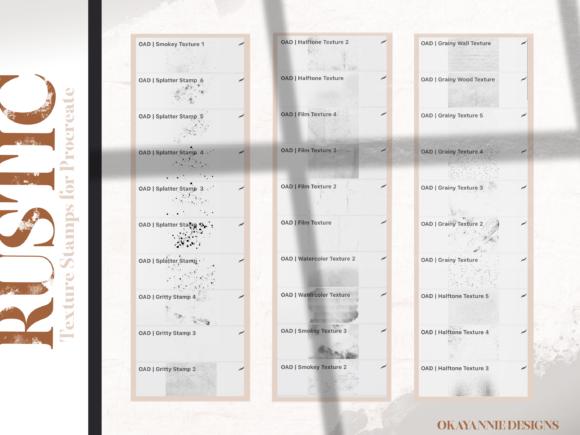 适用于Procreate使用的复古笔刷插图(12)