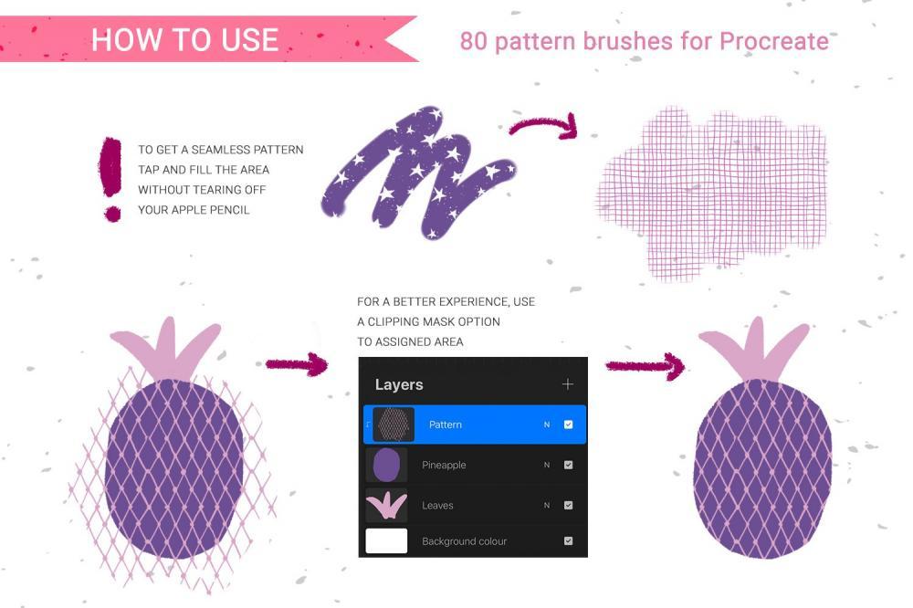 手绘图画Procreate笔刷下载插图
