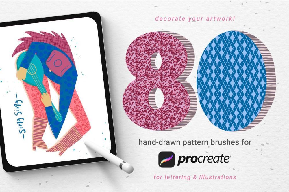 手绘图画Procreate笔刷下载插图(7)