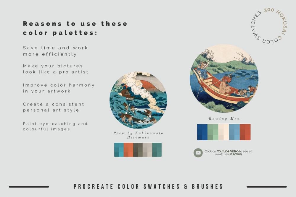 艺术创作绘画必备的Procreate笔刷资料插图8