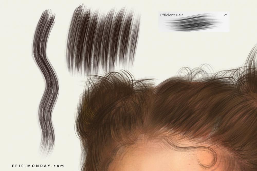 传神的人物肖像制造Procreate笔刷下载插图3