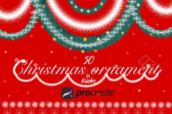 适用于Procreate的圣诞笔刷套装插图