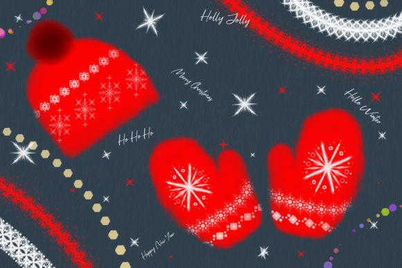 适用于Procreate的圣诞笔刷套装插图2