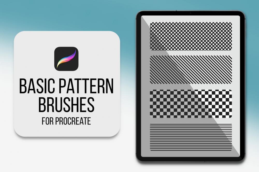根本的Procreate图画笔刷[brushset]插图