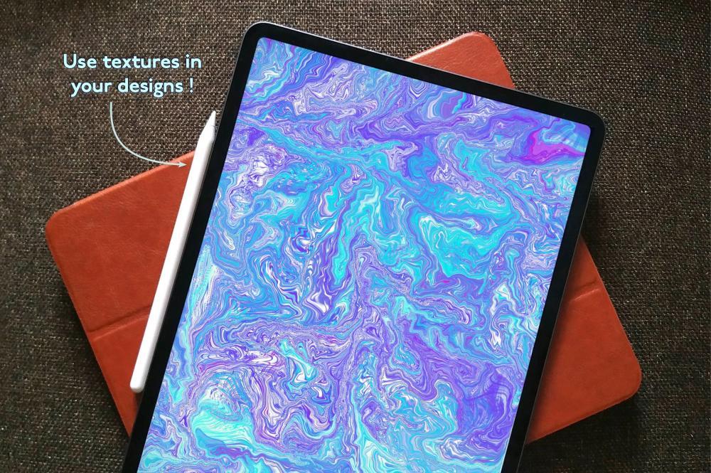 万圣节元素Procreate笔刷+大理石纹路套装插图14