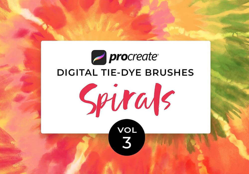 数码扎染画Procreate笔刷素材 (brushset)插图8