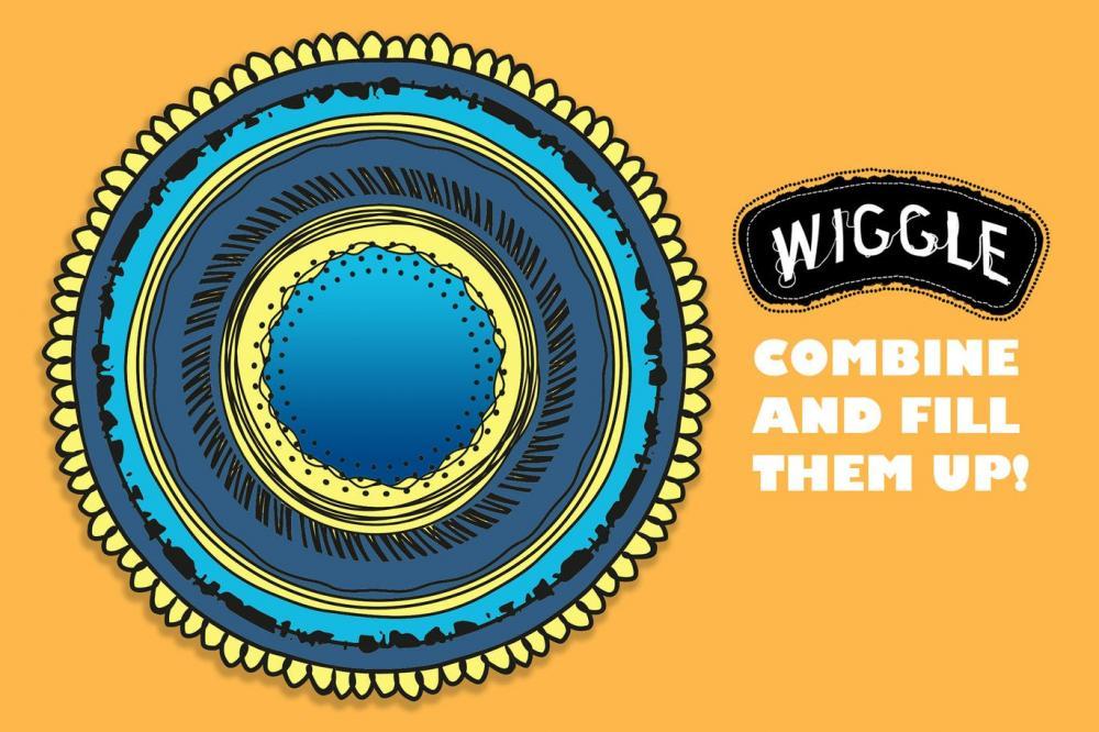 时尚高端逼真质感的Wiggle Illustrator 矢量画笔大集合-AI插图3